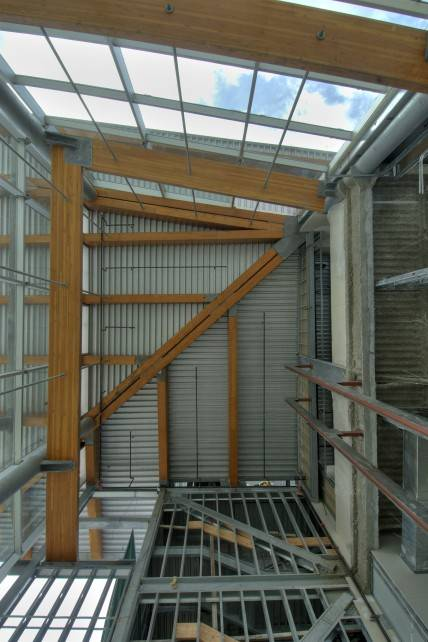 Glulam Beams in the Capilano Filtration Plant