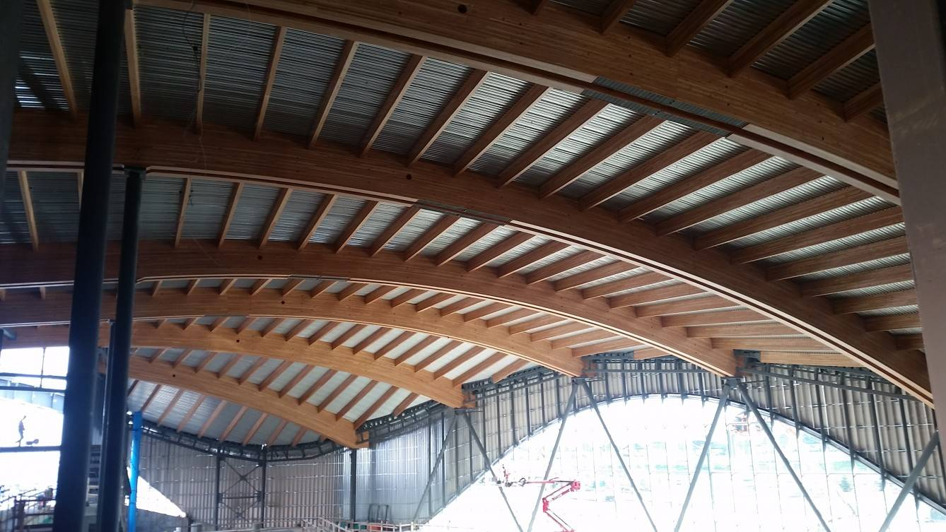 Rocky Ridge Recreation Facility Mass Timber Roof